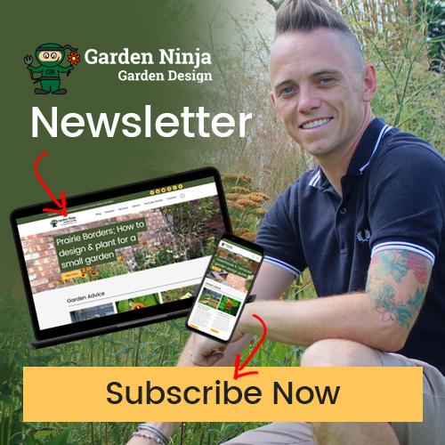 Subscribe to the Garden Ninja Newsletter