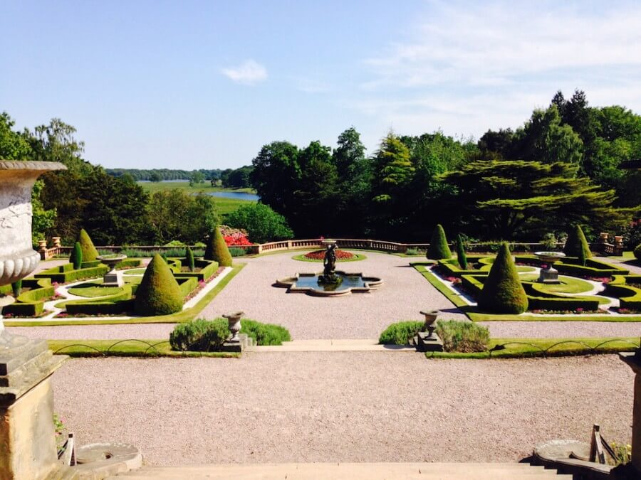 Tattons formal gardens