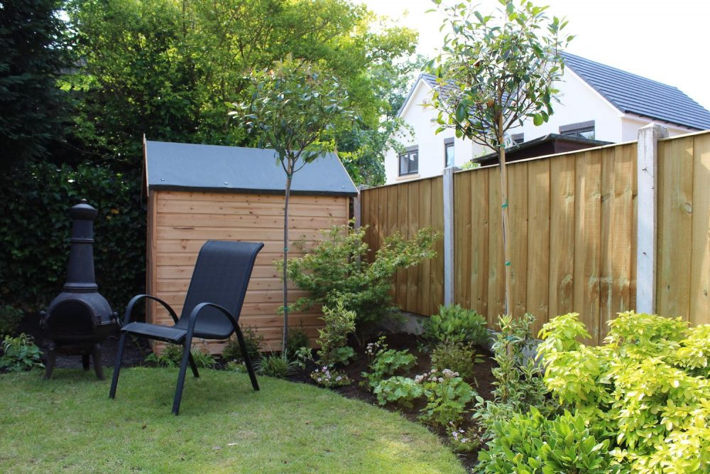 Overlooked Back Garden - Garden Ninja Ltd Garden Design