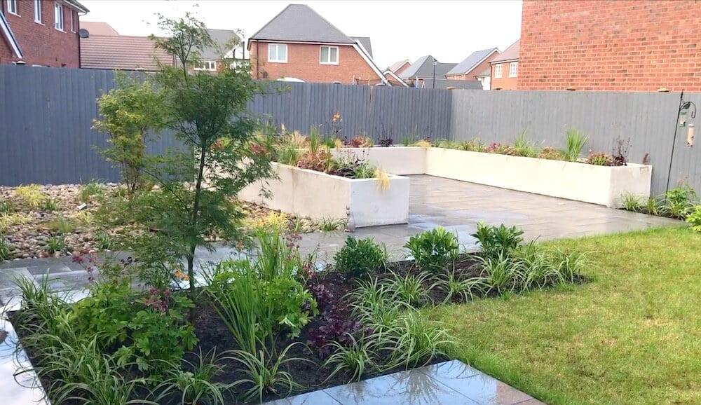 A contemporary garden makeover by Garden Designer Lee Burkhill