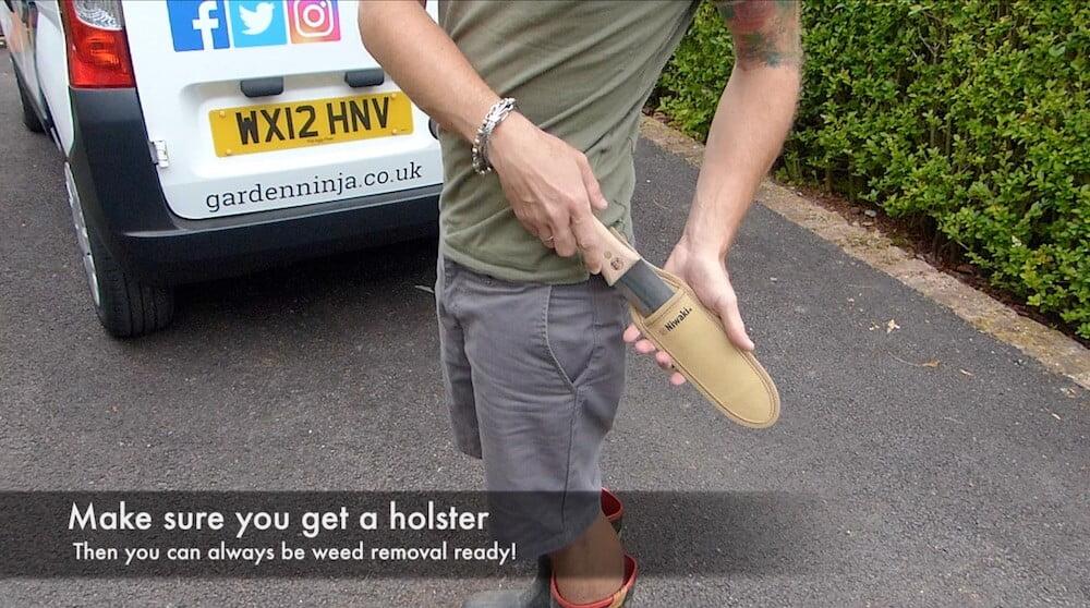 Hori Hori Gardening knife holster