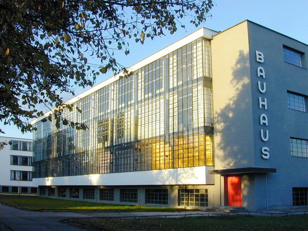 Bauhaus modernist design school